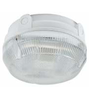 Ansell Delta 16W Electronic Photocell Bulkhead (White/Prismatic)