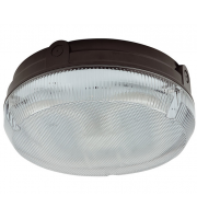 Ansell Delta 28W Cfl Electronic Photocell Bulkhead (Black/Prismatic)