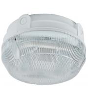 Ansell Delta 28W Cfl Integral Microwave Sensor Bulkhead (White/Opal)