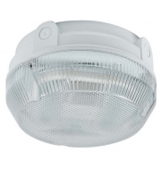 Ansell Delta 28W Cfl Electronic Photocell Bulkhead (White/Prismatic)