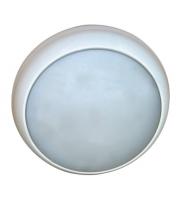 Ansell 28W Disco HF Emergency & Microwave Bulkhead (White)