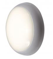 Ansell 8W 4000K LED Disco Bulkhead (White/Opal)