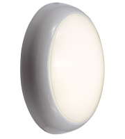 Ansell 14W 4000K Disco LED Emergency Bulkhead (White)