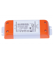 Ansell 12W 700mA Constant Current Non-Dimmable LED Driver (White)