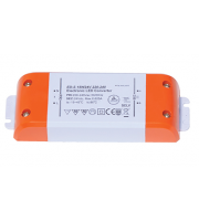 Ansell 15W 24V Constant Voltage Non-Dimmable LED Driver (White)