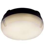Ansell 8W Delta 4000K IP65 LED Bulkhead (Black)