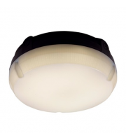 Ansell Delta 14W Emergency LED Bulkhead with Photocell (Black)