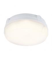 Ansell Delta 14W 4000K Round LED Bulkhead (White)