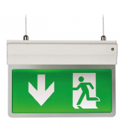 Ansell Eagle 3 in 1 2.5W LED Exit Sign (White)