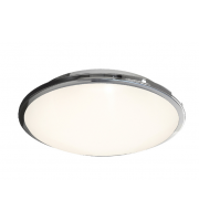 Ansell Eclipse MultiLED 4000K Dimmable Emergency LED Bulkhead (Chrome)