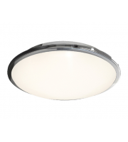 Ansell Eclipse MultiLED 4000K Emergency LED Bulkhead (Chrome)
