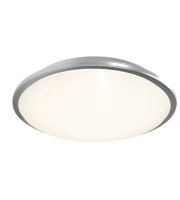Ansell Eclipse MultiLED 4000K Emergency Dimmable LED Bulkhead (Satin Chrome)
