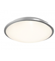 Ansell Eclipse MultiLED 4000K Emergency LED Bulkhead (Satin Chrome)