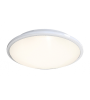 Ansell Eclipse MultiLED 4000K Emergency Dimmable LED Bulkhead (White)