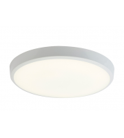 Ansell 12W Gamma 4000K LED Bulkhead with Microwave Sensor (White)