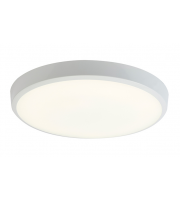 Ansell 12W Gamma Microwave & Emergency LED Bulkhead (White)