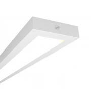 Ansell Gemini 4000K 2x1200mm Dimmable LED Linear (White)