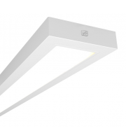 Ansell Gemini 4000K 2x1200mm Dimmable Emergency LED Linear (White)