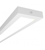 Ansell Gemini 4000K 2x1200mm Emergency LED Linear (White)