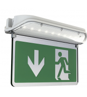 Ansell Harrier Led Double Sided Legend Arrow Down (Green)