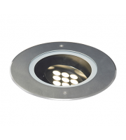 Ansell Highlight 4000K Adjustable (+30/-30) Led Inground Uplight (Stainless Steel)