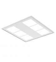 Ansell 34W Gridline Hexo 4000K Led Dimmable (White)