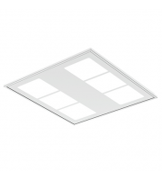 Ansell 34W Gridline Hexo 4000K Led Dimmable M3 Self-test (White)
