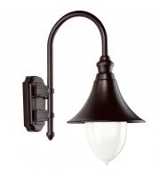 Ansell Lampara E27 Wall Lantern (Black)