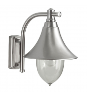 Ansell Lampara Inox E27 Wall Lantern (Stainless Steel)