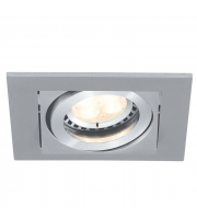 Ansell Lyric 1x50W GU10 Downlight (Matt White)