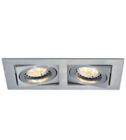 Ansell Lyric 2x50W GU10 Downlight (Brushed Satin)