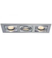 Ansell Lyric 3x50W GU10 Matt White Downlight (Matt White)