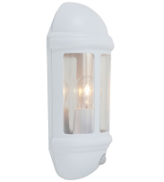 Ansell Latina 42W E27 P/cell Half Lantern (White)
