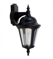 Ansell Latina 42W E27 Wall Lantern (Black)