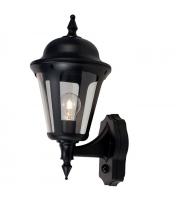 Ansell Latina 42W E27 Pir Wall Lantern (Black)