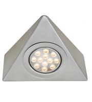 Ansell Vertex 3200K Led Tri-light (Satin Chrome)