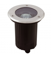 Ansell 50W GU10 Adjustable Inground Uplight (Stainless Steel)