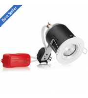 Aurora 12V MR16 Fixed Insulation Covered Halogen Lighting Pack (White)