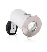 Aurora GU10 Aluminium IP65 10W Low Energy Downlight (Satin Nickel)
