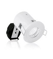 Aurora2 GU10 Fixed Cast IP65 Acoustic Downlighter Fire Protect (White)