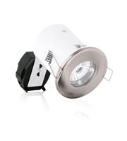 Aurora MR16 Pressed Steel IP65 Fire Protection Light Pack (Satin Nickel)