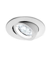 Aurora Lighting Small Wallwasher MR16 Lock Ring Downlight (White)