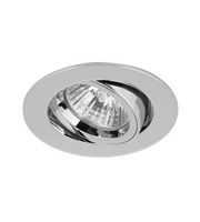Aurora 240v GZ/GU10 Cast Adjustable Lock Ring Downlight (Polished Chrome)