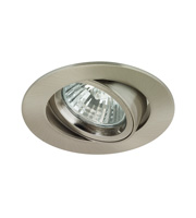 Aurora GZ/GU10 Cast Aluminium Adjustable Lock Ring Downlight(Satin Nickel)