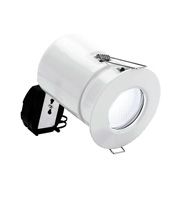 Aurora Lighting 240v SGU10 IP65 11W Low Energy Firerated Downlight (White)