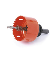 Aurora Lighting 125mm Holesaw Accessory (Red)