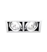 Aurora Lighting ALU111 Adjustable Twin Halogen Multiple (Matt White)
