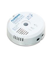 Aurora Lighting 35-105W/VA Round Electronic Transformer (White)