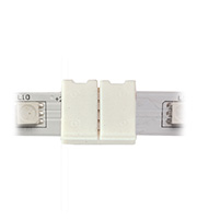 Aurora Lighting Wired Connector for LED Strip Light (White)