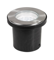 Aurora Lighting 240V IP67 Adjustable 3 x 3W LED Walkover Light (Black)